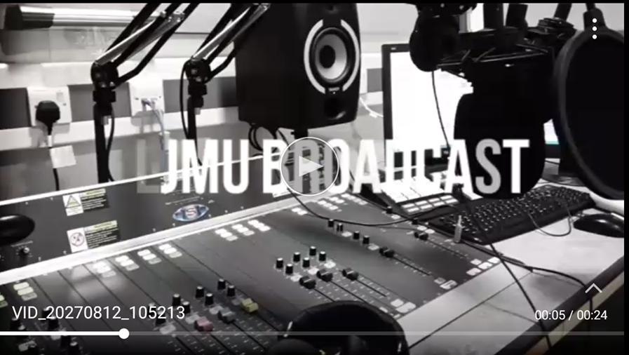 LJMU broadcast